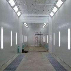 CE Standard Spray Booth With Prep Station For Air Craft Painting And Drying