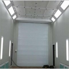 Big Size Paint Booth With ISO 9001 And CE Certified Diesel Burner Heating